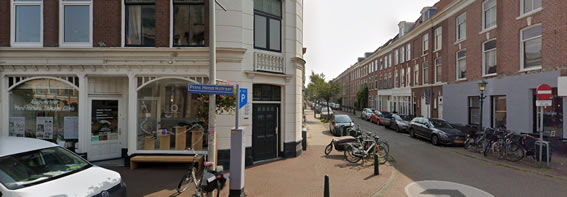 Locatie Prins Hendrikstraat